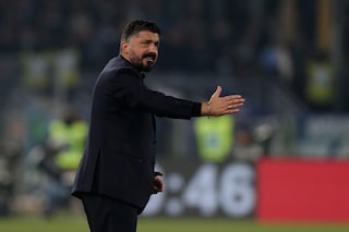 """Napoli, Gattuso: """"Serve una grande gara, la Juventus fa venire il mal di testa"""""""