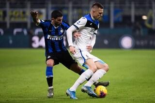 L'Inter verticale dura solo un tempo, l'Atalanta quasi vince senza punte