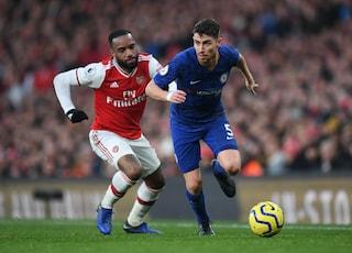 Calcio in tv oggi e stasera: Napoli-Lazio in Coppa Italia, Chelsea-Arsenal per la Premier