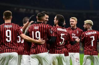 Milan-Torino Coppa Italia 4-2, Calhanoglu e Ibra decisivi nei supplementari