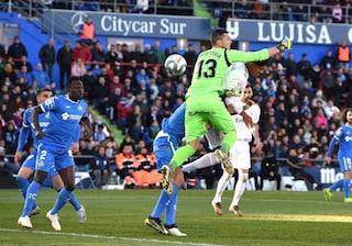 Getafe-Real Madrid 0-3: l'autogol di Soria, Varane, Modric (e il Var) fanno sorridere Zidane