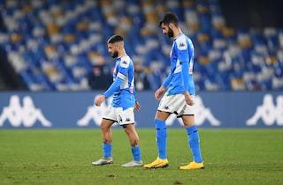 """Napoli in ritiro dopo la sconfitta con la Fiorentina, Gattuso: """"Scelta dei giocatori"""""""
