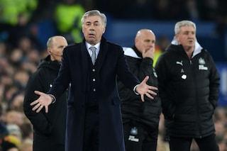 """Il trauma di Ancelotti: """"Il pari del Newcastle? Così ho perso una Champions col Milan"""""""