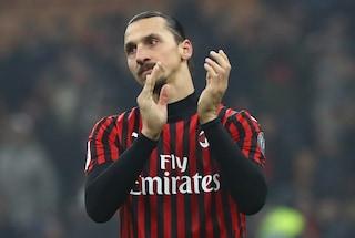 """Zlatan Ibrahimovic e l'amore per i colori rossoneri: """"Non ho mai lasciato il Milan"""""""