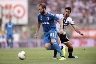 Juventus-Parma 2-1: doppio Ronaldo, minifuga bianconera