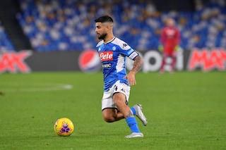 Il Napoli vince 2-0 sul Perugia, decisivo Insigne perfetto due volte dal dischetto