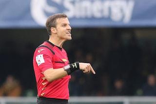 Fiorentina-SPAL, problemi di salute per l'arbitro La Penna: sostituito da Doveri