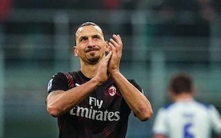 """Milan, Ibrahimovic: """"Volevo segnare ed esultare come un Dio sotto la curva"""""""
