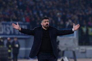 """Napoli, Gattuso: """"Nel primo tempo gli abbiamo fatto il solletico. Ospina? Colpa mia"""""""