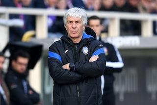 Fiorentina multata per i cori dei tifosi contro Gasperini in Coppa Italia