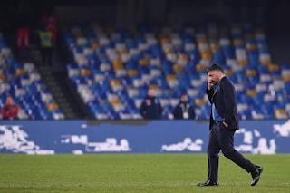 """Gattuso: """"Dobbiamo chiedere scusa ai tifosi e alla città, prestazione imbarazzante"""""""