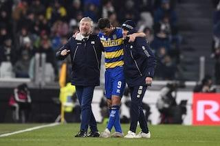 """Parma, il nuovo infortunio di Inglese preoccupa D'Aversa: """"Ha sentito tirare il flessore"""""""