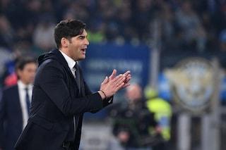 """Roma, Fonseca: """"Florenzi voleva giocare di più, è stato lui a voler andare via"""""""