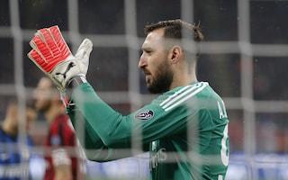 Milan, in Coppa Italia è ballottaggio tra Antonio Donnarumma e Begovic