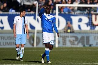 Balotelli da record in Brescia-Lazio: ha segnato il primo gol in due decenni consecutivi