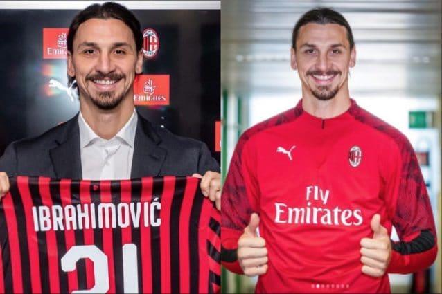 Zlatan Ibrahimovic E Ufficiale Al Milan Avra La Maglia Numero 21