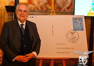 Lazio in festa per i 120 anni: ecco lo speciale francobollo emesso da Poste Italiane