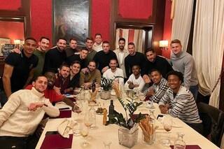Juventus, cena di gruppo in vista della Roma ma manca Cristiano Ronaldo