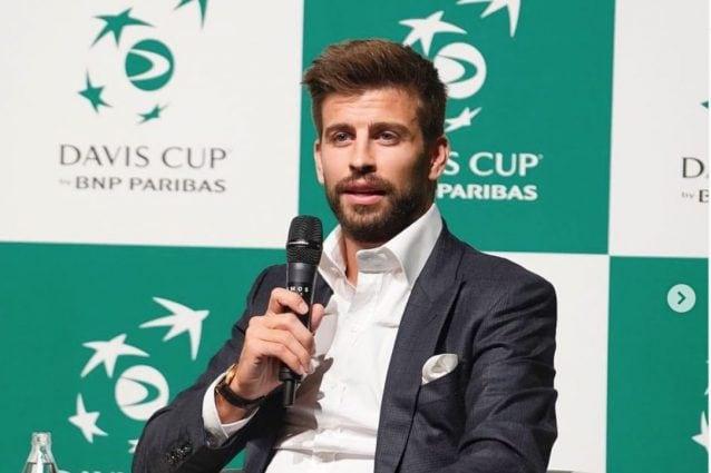 Piqué alle prese con gli impegni per la presentazione della nuova Coppa Davis (foto https://www.instagram.com/3gerardpique/)