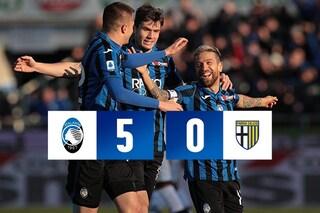 Atalanta-Parma 5-0, doppietta di Ilicic, perla di Gomez. Nerazzurri a un punto dalla Roma