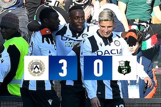 Udinese-Sassuolo 3-0: Okaka, Sema e De Paul fanno volare i friulani. Emiliani in crisi