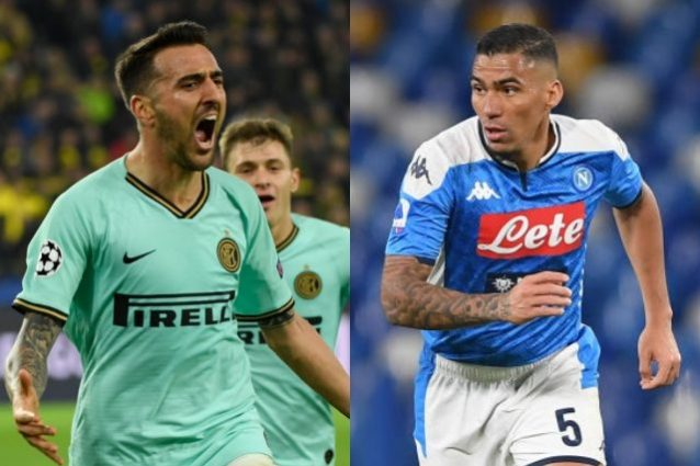 Inter e Napoli: si pensa allo scambio Allan-Vecino