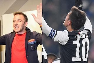 """Del Piero a Dybala: """"Bello fare gol così"""". La 'Joya': """"Potere della maglia numero 10"""""""