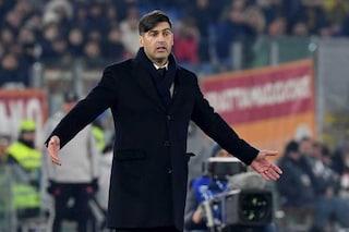 """Roma, Fonseca: """"Soddisfatto della reazione. Zaniolo? Un grande problema"""""""