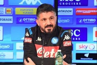 """Napoli, Gattuso: """"Ibrahimovic? Quando vedo la sua foto io sembro suo nonno"""""""