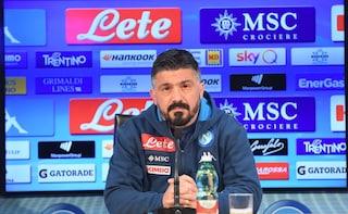 """Gattuso striglia il Napoli in calabrese: """"Dobbiamo 'nchianare', salire, salire, salire..."""""""