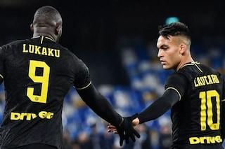 L'Inter si gode Lukaku-Lautaro: coppia gol devastante in Europa, vale oltre 200 milioni