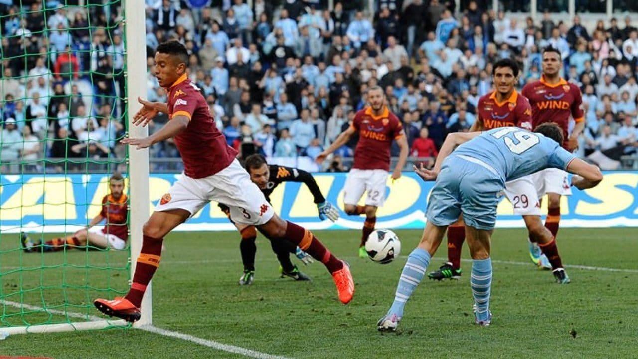Il gol di Senad Lulic nella finale di Coppa Italia del 2013.