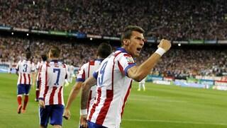 Supercoppa di Spagna, unico precedente tra Real Madrid e Atletico nel segno di Mandzukic