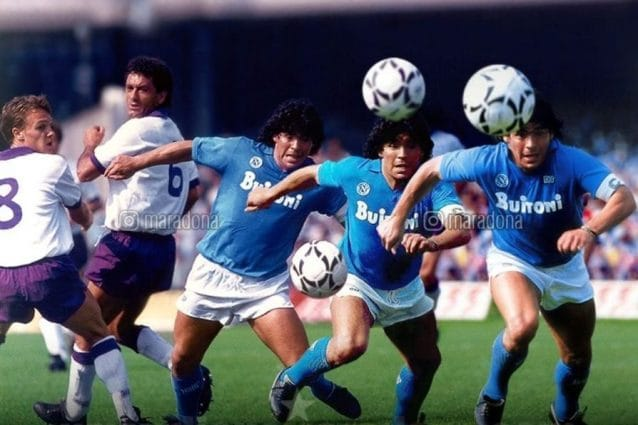 De Laurentiis su Maradona:
