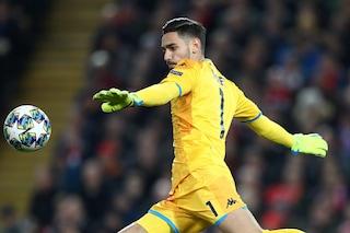 Napoli, Gattuso perde anche Meret: il portiere salta per infortunio la Lazio