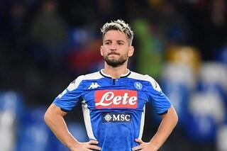 Mertens infortunato resta in Belgio. L'attaccante del Napoli salterà la sfida con la Lazio
