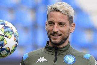 Dries Mertens chiuderà la stagione al Napoli, che gli ha proposto un ricco biennale