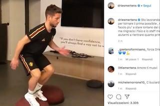 """Napoli, Mertens: """"Lavoro duro, non ce la faccio più a non giocare"""""""