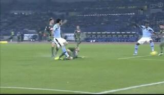 Moviola Lazio-Napoli, rigore dubbio (e non concesso) su Luis Alberto