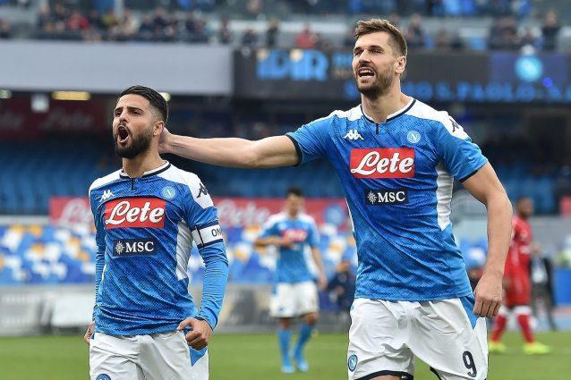 Coppa Italia: Napoli-Perugia 2-0, ai quarti sfida contro