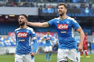 Coppa Italia: Napoli-Perugia 2-0, ai quarti sfida contro la Lazio