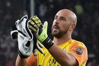 Pepe Reina all'Aston Villa, il portiere lascia il Milan e torna in Premier
