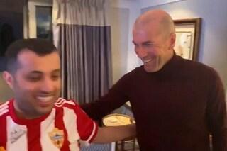 """Presidente dell'Almeria: testata Zidane e domanda a Materazzi """"E' abbastanza forte?"""""""