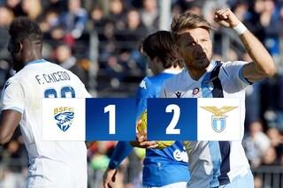Brescia-Lazio 1-2, Immobile fa volare Inzaghi: eguagliato record di vittorie di Eriksson