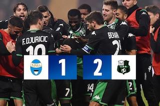 Boga moto perpetuo, regala la vittoria al Sassuolo contro la Spal (1-2)