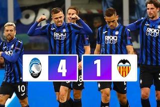 Atalanta-Valencia 4-1: Gol e spettacolo, dominio totale della Dea a San Siro