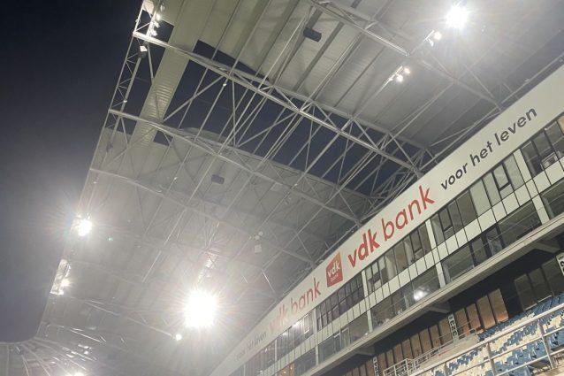 Il tetto dello stadio del Gent – Fonte: hln.be