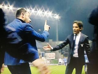 """Parma-Lazio, tensione D'Aversa-Inzaghi al 90': """"Questa partita non è mai iniziata"""""""