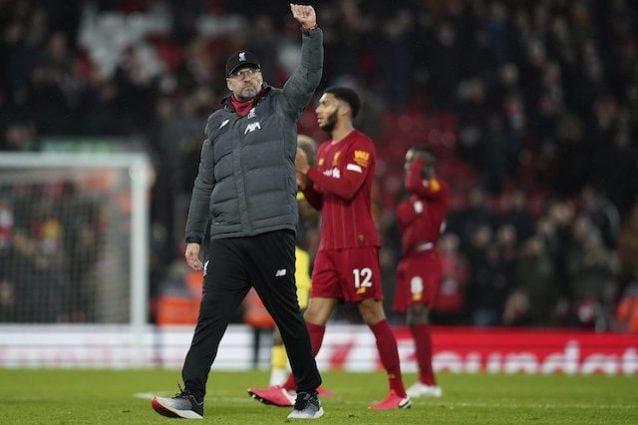 Premier League - Liverpool, altro traguardo: prima squadra europea a qualif