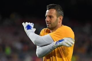 Inter, il report ufficiale sulle condizioni di Samir Handanovic: infrazione al dito